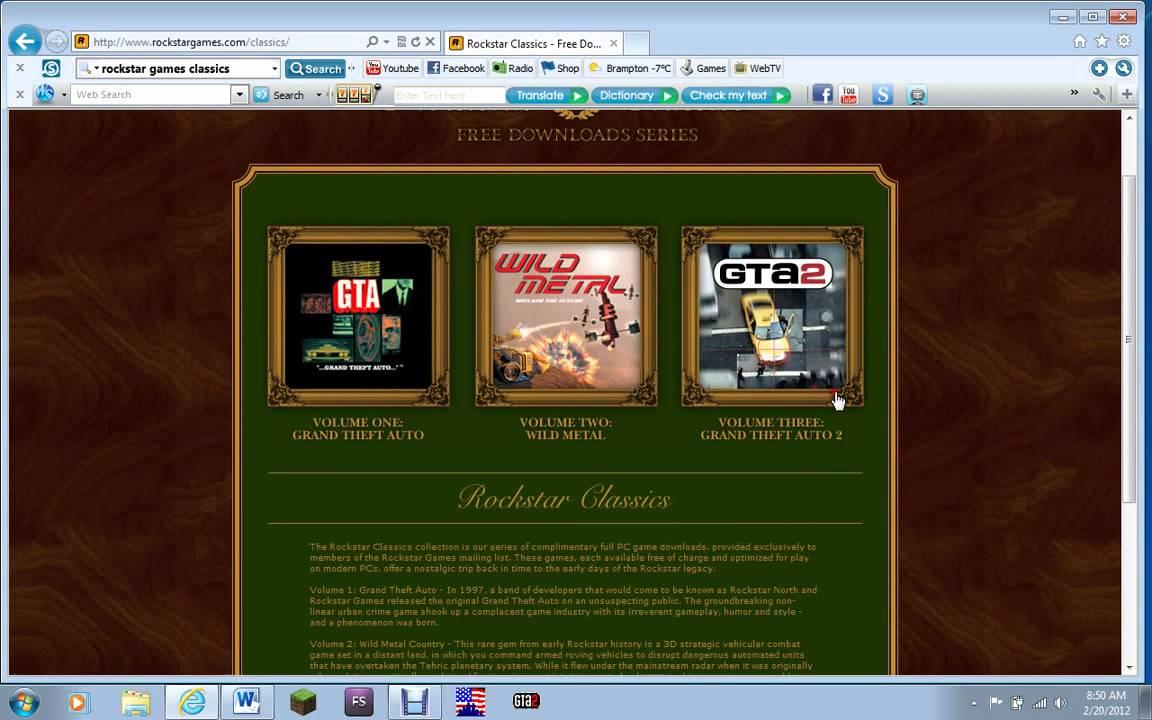 rockstar games free download for mac