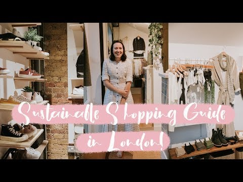Come Sustainable Shopping With Us In London! | Always, Hunter
