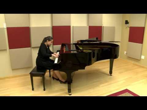 """Nadine Aderhold- Prokofiev """"Sarcasm"""" Op 17 No 3"""