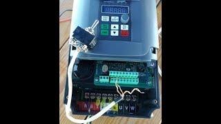 Частотный преобразователь 9600 1Т, подключение, настройка