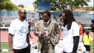 Seattle Seahawks- Richard Sherman & Brandon Browner on GraveDigga Football TV  2013