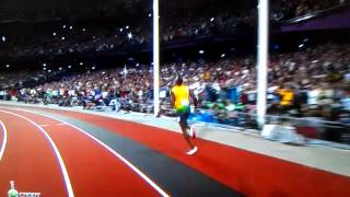 Усейн Болт бег на 100 метров