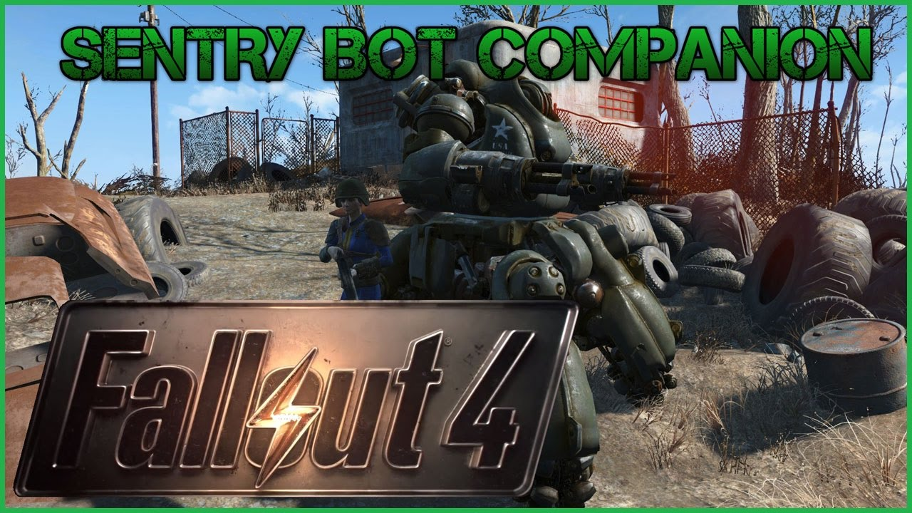 how to build a sentry bot in fallout 4