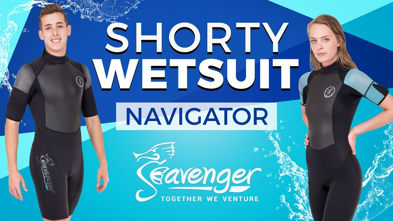 206ef82f09 Seavenger Navigator 3mm Neoprene Shorty  Best Short Wetsuit 2018 ...