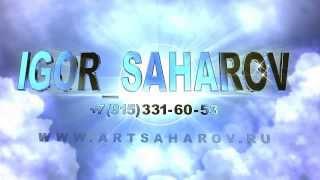 Новый сайт Игоря Сахарова, начало вебинаров, новые видео художника