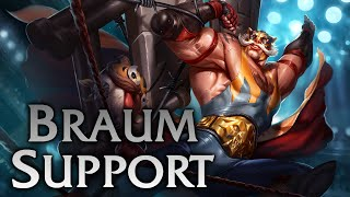 League of Legends | El Tigre Braum Support - Full Game Commentary