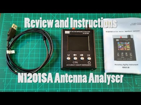N1201SA Antenna Analyser Review