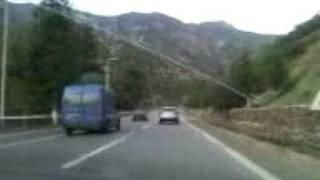 Route jusqu'à Médéa, Algérie