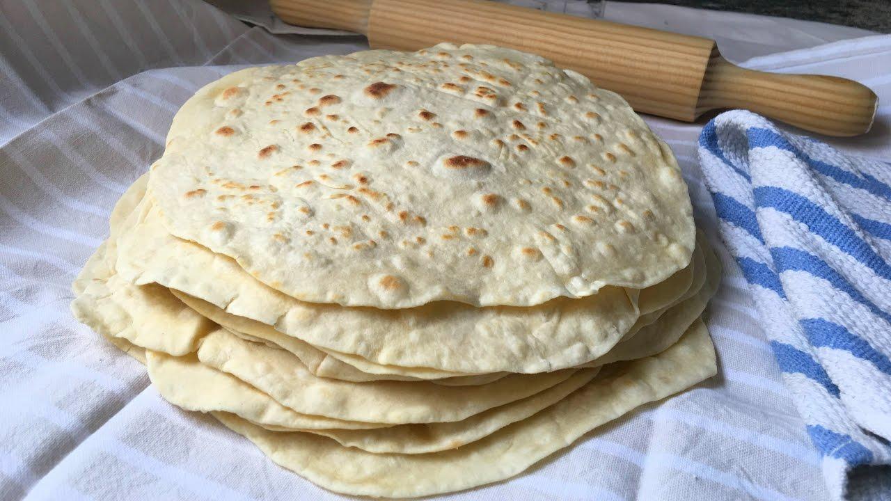 Fajitas, Receta de elaboración de Tortillas de Harina paso a paso      Recetas de comida y cocina rápida.