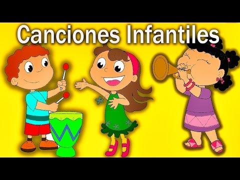 Canciones Infantiles en Español - Las Mejores Canciones Educativas Para Niños - Lunacreciente