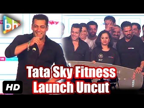 Salman Khan | Suniel Shetty | 'Tata Sky's Health And Fitness' Launch | Event Uncut