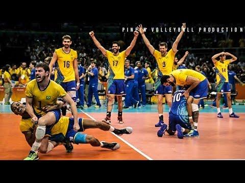 Brazil vs Poland - Những Cú Dội Bom | Bóng Chuyền Thế Giới [HD]
