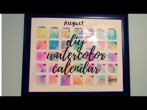 diy-watercolor-calendar