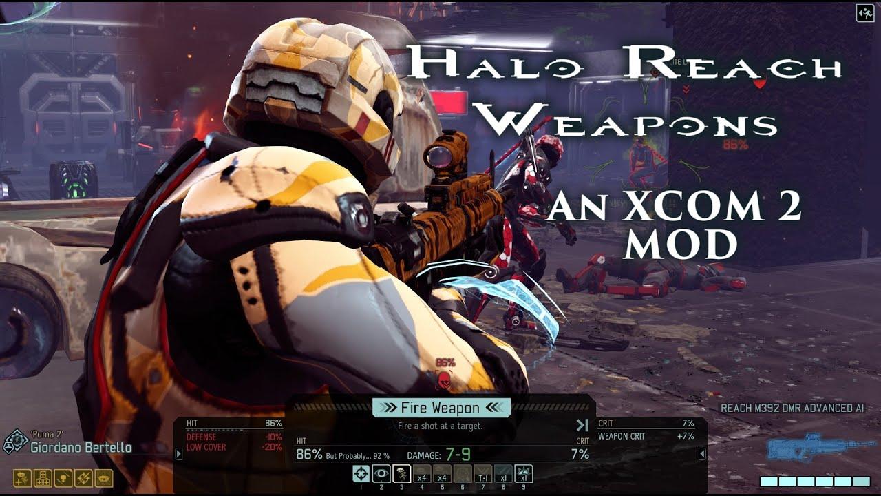 XCOM 2 Mod: Halo Reach Weapons