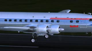 JUSTFLIGHT DC6 LEAVING MONTEGO BAY