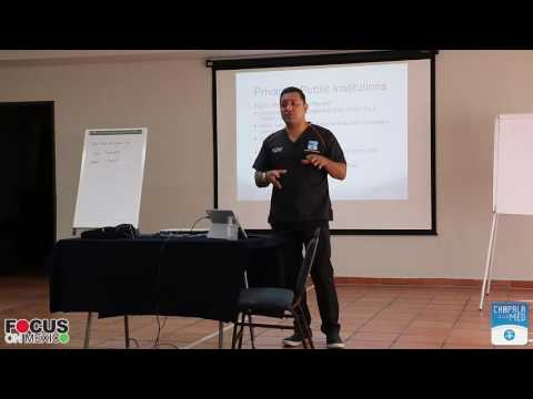 Dr. Hernandez speaks at the Focus On Mexico August 2016 program
