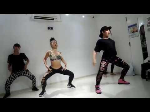 African bad gyal wizkid ft chris brown/choreography by Chiaki Iida