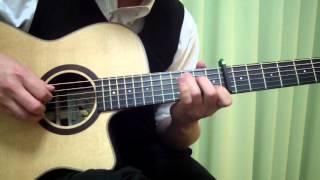 某CMの曲をソロギターにアレンジして弾いてみました。 Capo: 8 Tuning: ...