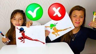 DESAFIO COLORINDO COM 3 CORES 4 MARKER CHALLENGE 3 WITH CLUBINHO DA LAURA !