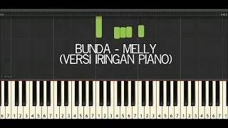 Karaoke Bunda Melly Goeslaw Do=C (Virtual Piano Synthesia)