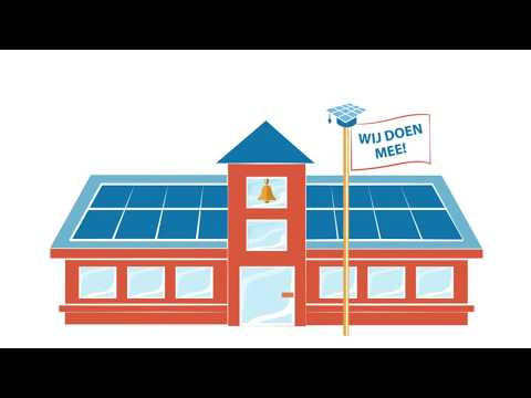 oproep aan overheid zonnepanelen op alle scholen