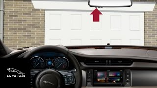 jaguar xf 2016 2017   garage door opener homelink