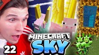 WIR VERLASSEN PALDADOBEY & EDGAR HAT FLÜGEL! ✪ Minecraft Sky  #22 | Paluten