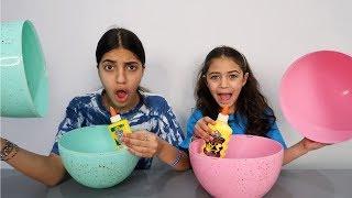 Don't Choose the Wrong Egg Glue Slime Challenge 2!!!