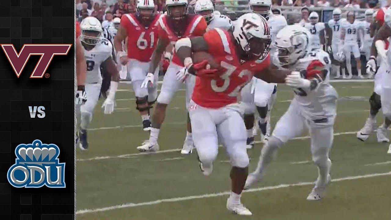 Virginia Tech Vs Old Dominion Football Highlights 2018