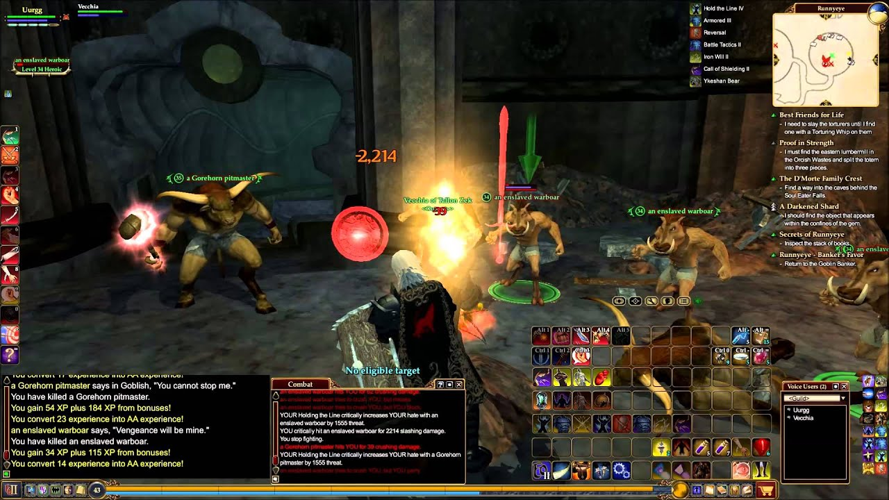 Everquest 2 Guardian and Inquisitor