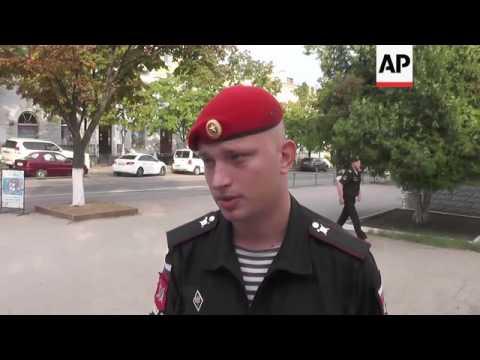 Sailors of Russian Black Sea fleet cast ballots