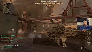 Call of Duty: WW II TDM gameplay March 12, 2018 pt2
