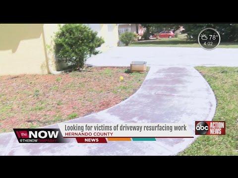 Man Scammed Elderly With Shoddy Resurface Work