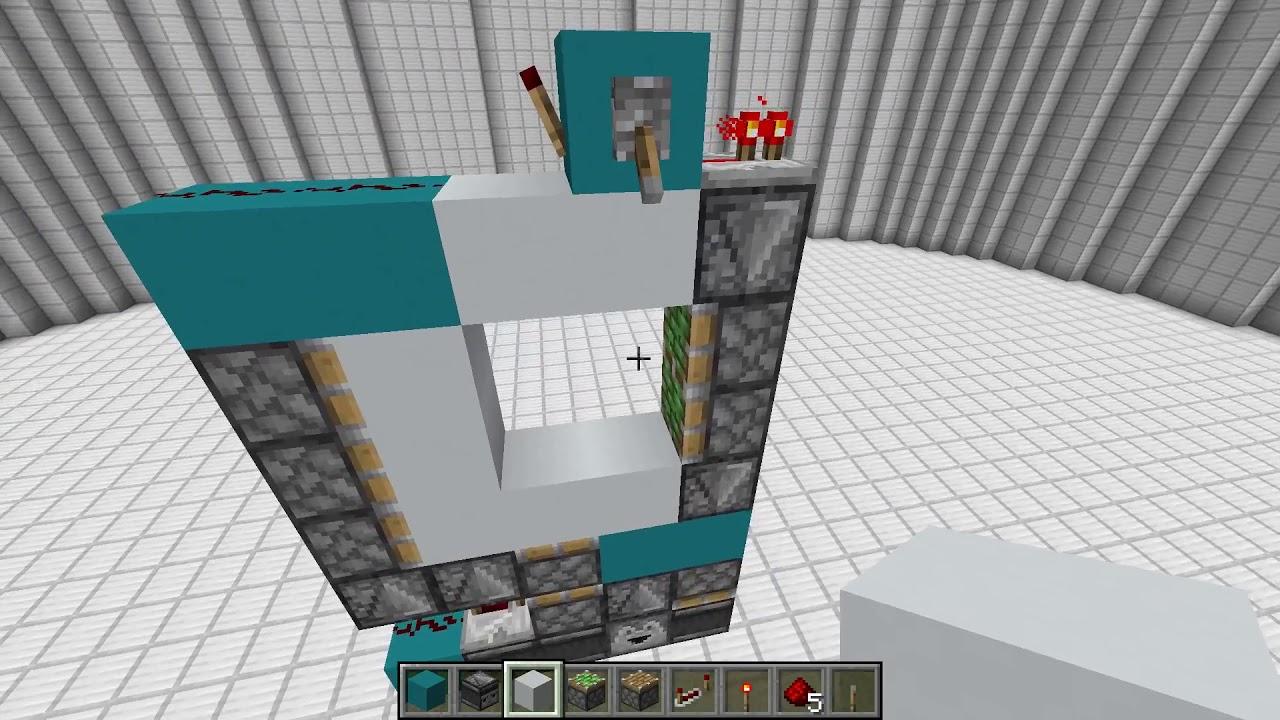 A Strange 2x2 Piston Door