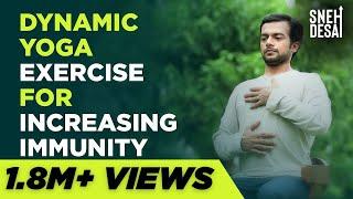 Dynamic Yoga Exercise for Increasing Immunity by Sneh Desai screenshot 3