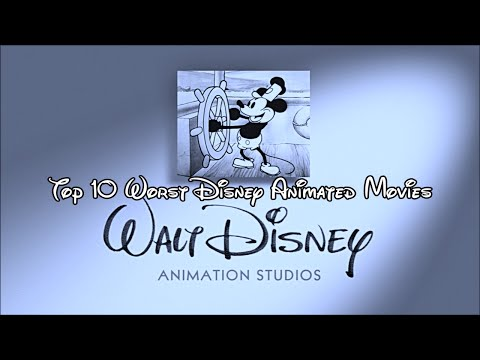 Top 10 Least Favorite Disney Animated Movies