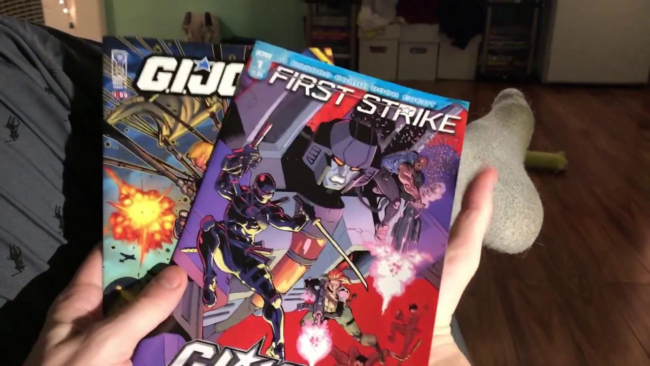 GI Joe DIVERSITY AND COMICS PARODY Style Review SJW IDW Aubrey Sitterson Wont Let YOU Mourn 9 11