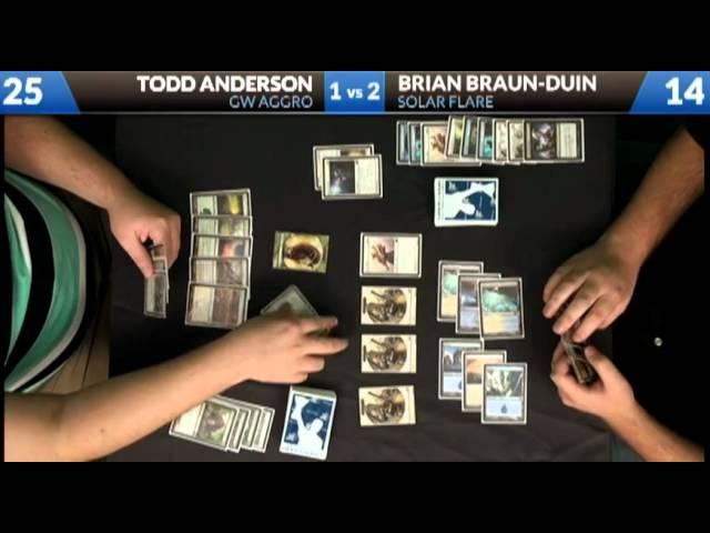 Todd vs BBD 09/07/2012: G/W Aggro vs Solar Flare