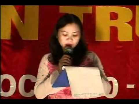 Dien van khai mac nam hoc 2010 2011 cua hieu truong Truong mam non ThangLong KidSmart