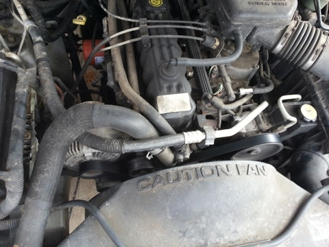 Serpentine Belt Replacement, Jeep Grand Cherokee 2004