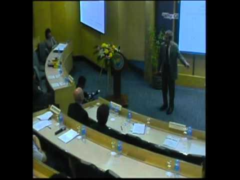 Prof. Eric Maskin at UTCC, with an introduction by Uwe Morawetz