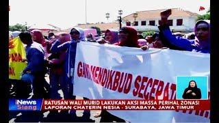 Download Ratusan Wali Murid di Surabaya Gelar Demo Protes Sitem Zonasi - iNews Siang 19/06 Mp3 and Videos