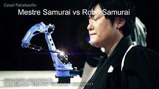 Mestre Samurai vs Robô Samurai  - Quem é o melhor?