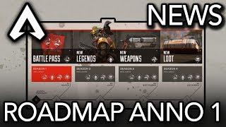 Apex Legends   News: Battle Pass, Nuove Leggende, Armi e Altro   Roadmap Anno 1