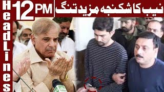 Ashiana Scam: Shahid Shafiq Remanded into NAB Custody - Headlines 12 PM - 25 February - Express News