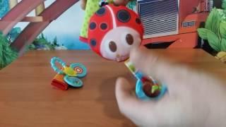 Игрушки для кроватки Веселая игра Tiny Love. Обзор игрушки.