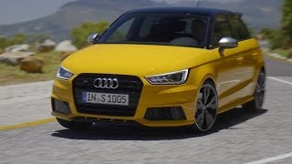 NEW Audi S1 Sportback TEST Drive