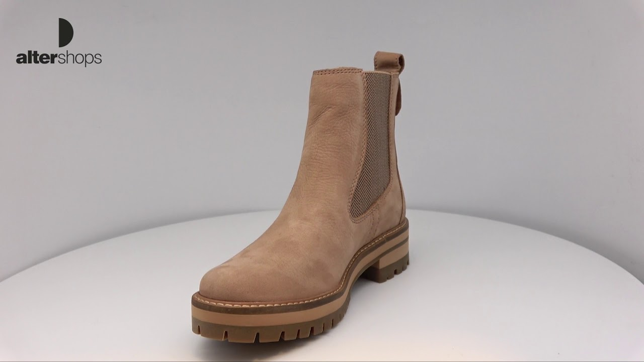 Timberland Women's Courmayeur Valley A1S9Z Chelsea Boot