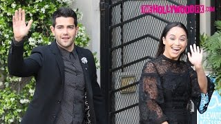 Jesse Metcalfe & Cara Santana Are A Happy Couple At The Marie Claire Party In West Hollywood 4.11.16