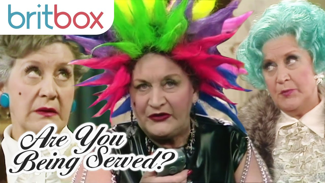 Mrs Slocombe S Hilarious Pussy Cat Moments Are You Being Served Youtube
